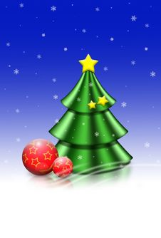 Free Christmas Tree Royalty Free Stock Photo - 6819835