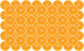 Free Background From Oranges Royalty Free Stock Photo - 6823235