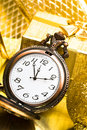Free Golden Clock Royalty Free Stock Images - 6828719