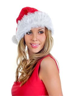Free Santa Girl Stock Images - 6821414