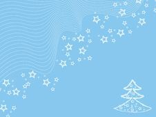 Free Blue Winter Wallpaper Royalty Free Stock Photos - 6822038