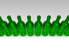 Free Green Bottles Stock Photography - 6822072