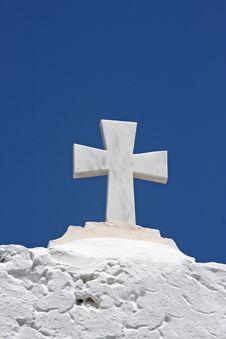Free Orthodox Church In Santorini Stock Images - 6822314