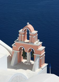 Free Orthodox Church In Santorini Stock Photos - 6822423