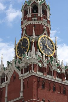 Spasskaya Tower Stock Photography