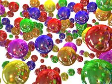 Free Colour Balls Royalty Free Stock Photo - 6823195