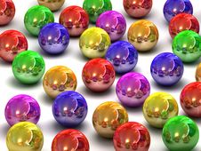 Free Colour Balls Stock Image - 6823311