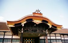 Kyoto Imperial Palace Gate Royalty Free Stock Images