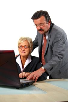 Senior Business People Stock Photos