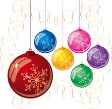 Free Christmas Balls Stock Photo - 6824270