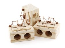 Free Mousetrap Royalty Free Stock Image - 6825446