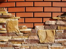 Free Brick Wall Royalty Free Stock Photo - 6825475