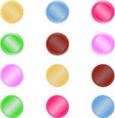 Free Web Buttons Royalty Free Stock Photos - 6825628