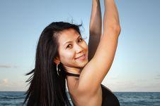 Free Beautiful Woman Smiling Stock Photo - 6827330
