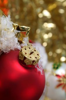 Free Red Ornament Stock Photo - 6828140