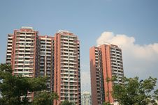 Free Modern Apartment Buildings Royalty Free Stock Image - 6828366