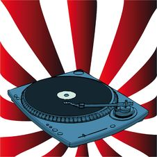Turntable Royalty Free Stock Photos