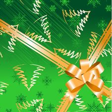 Free Gift Bow Ribbon, Christmas Stock Photography - 6829102