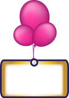 Free Ballons Stock Image - 6829241