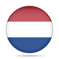 Free Button With Flag Of Netherlands Stock Images - 68284244