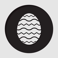 Free Information Icon - Easter Egg Royalty Free Stock Image - 68284316
