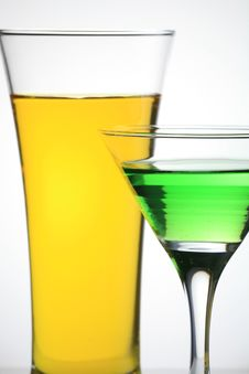 Free Juice And Martini Stock Photo - 6830130
