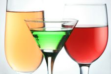 Free Colorful Liquid Glass Stock Image - 6830221