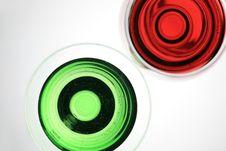 Overlook Liquid Glass Royalty Free Stock Photo