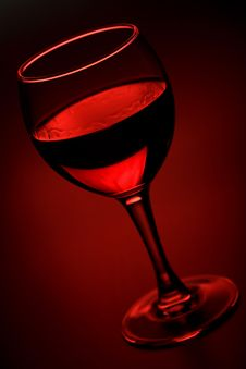 Free Glass Of Red Wine Royalty Free Stock Photo - 6830435