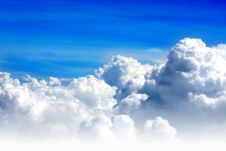 Free Blue Sky And Clouds Stock Photo - 6830570