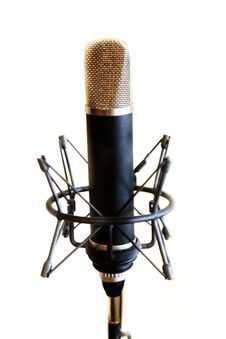 Free Microphone Royalty Free Stock Photography - 6830687