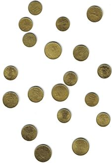 Free European Coins Stock Images - 6831074
