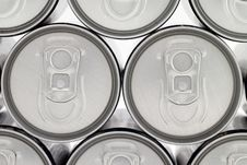 Free Gray Cans  Background Royalty Free Stock Photography - 6831657