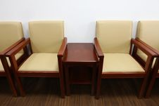 Chairs In Meeting Room Stock Image