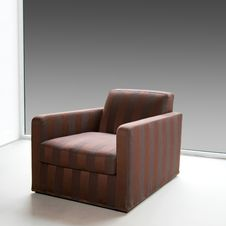 Free Brown Armchair 2 Royalty Free Stock Images - 6831809