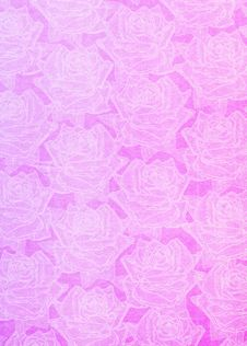 Free Beautiful Paper Roses Background Royalty Free Stock Photos - 6832158