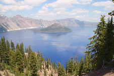 Free Crater Lake Stock Photo - 6832770