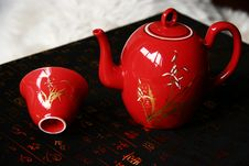 Free China Red Ceramic Royalty Free Stock Photos - 6833088