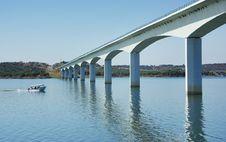 Bridge In Alentejo. Royalty Free Stock Images