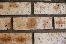 Free Facebrick Wall - Step 07 Royalty Free Stock Photography - 6833397