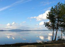 Kolvitskoe Lake Royalty Free Stock Photos