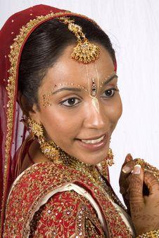 Free Hare Krishna Bride Stock Photo - 6833940