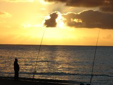 Free Sea Fishing Stock Photo - 6834030
