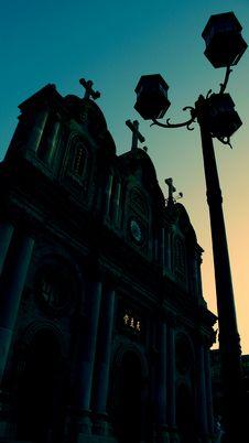 Free Catholic Church In Xian China Stock Photography - 6834442