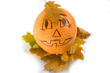 Free Halloween Pumpkin Stock Photo - 6834670