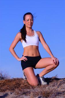 Free Female Runner Stock Photos - 6834673
