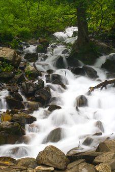 Free Mountains Waterfall Stock Photos - 6835383