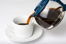 Free Cup Of Espresso Coffe Stock Image - 6835561