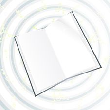 Free White Black Book On Magical Circles Stock Photo - 6836080