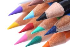 Free Colored Pencils Stock Photos - 6836293
